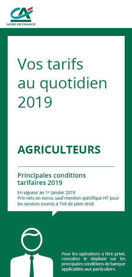 Credit Agricole Nord De France Nos Tarifs Credit Agricole