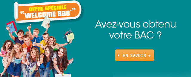 "Offre Sp�ciale ""Welcome Bac"""